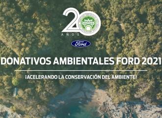 Ford celebra 20 años propulsando la sustentabilidad a través de su programa Donativos Ambientales Ford