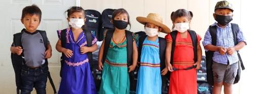 MIDES entrega Mochilas Cuidarte a 180 niños en la comarca Ngäbe Buglé