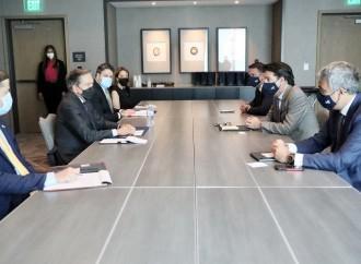 Encuentro entre Presidente Cortizo Cohen y Mauricio Ramos, CEO de Millicom|Tigo
