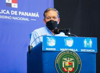 Presidente Cortizo anuncia vacunación de más de 150 mil personas en San Miguelito