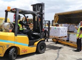 Panamá recibe 503,100 dosis Pfizer donadas por Estados Unidos