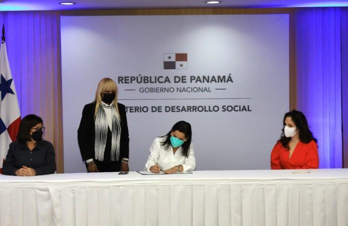 MIDES firma alianza con organizaciones para respaldar la primera infancia