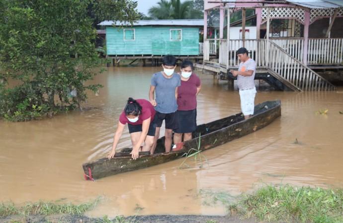 SINAPROC: más de cinco mil personas afectadas por las recientes lluvias