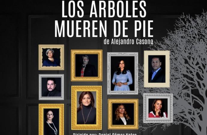 A partir de hoy «Los árboles mueren de pie» en el Teatro Nacional de Panamá