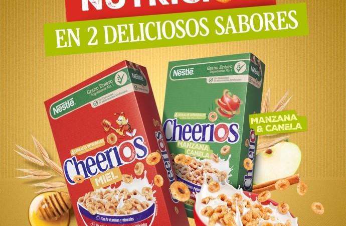 Nutrición y diversión con Cheerios Nestlé en el desayuno