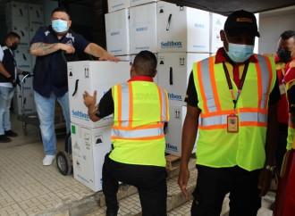 Panamá recibe 375,570 nuevas dosis de la farmacéutica Pfizer