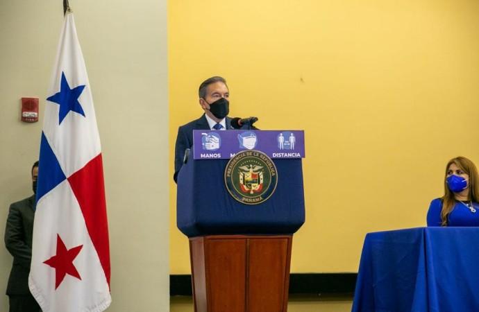 """Presidente Cortizo Cohen: """"No tolero ni voy a tolerar ningún acto de corrupción"""""""