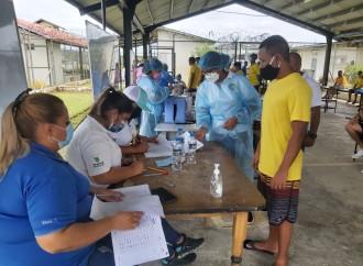 Privados de libertad de Bocas del Toro reciben vacuna contra la Covid-19