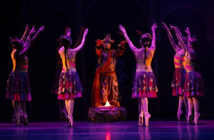 """Con """"La Bayadére"""" Ballet Nacional celebra su 49° aniversario"""