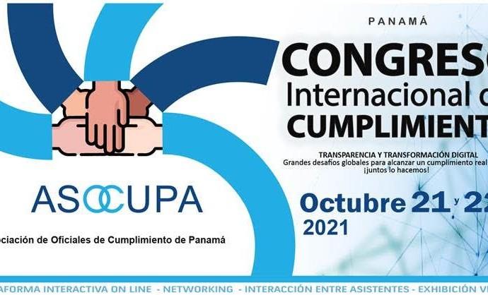 Asocupa lanza Congreso Internacional de Cumplimiento – Panamá 2021