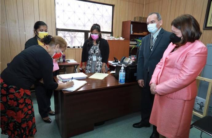 Tercer Tribunal Superior de Justiciadel Primer Distrito Judicial de Panamá realizareparto de procesos concursales de insolvencia