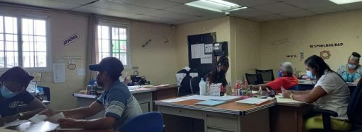 Actualizan expedientes de familias para legalizar asentamiento La Alameda en Burunga