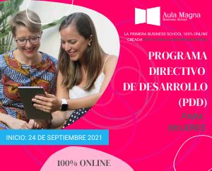 Lanzamiento exclusivo Programa Directivo para mujeres