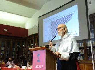 Toni Segarra, investido 'doctor honoris causa' por la Universidad Nebrija