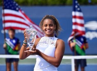 Robin Montgomery se lleva a casa los títulos de individuales y dobles juveniles femeninos del Abierto de EE.UU.