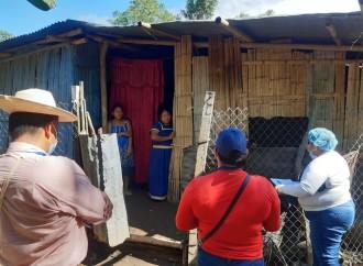 Miviot Inspecciona viviendas en Divalá para verificar si presentan daños estructurales