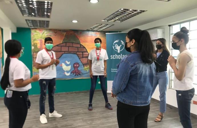 """Scholas Occurrentes Panamá realiza su primera actividad en la sede bajo el lema """"Volver al Volver"""""""
