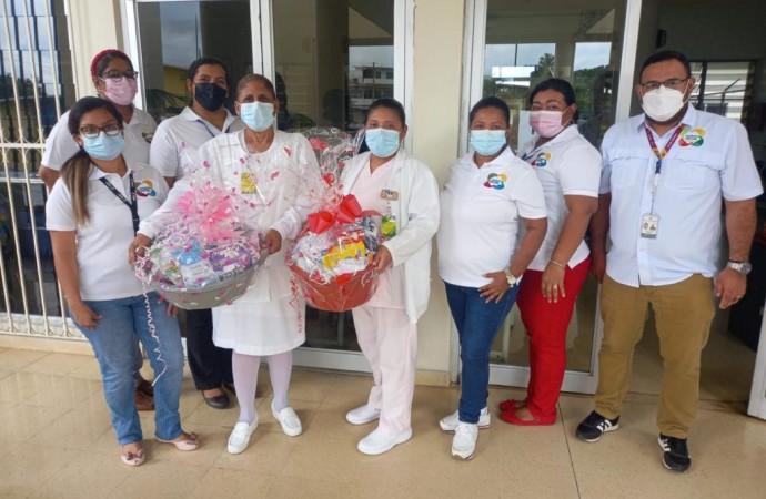 Trabajadores Sociales de Coclé entregan canastillas