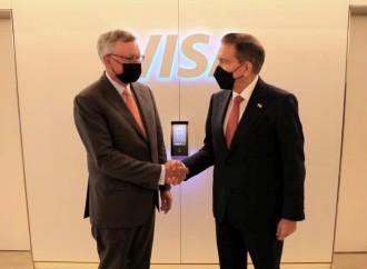Presidente de Panamá se reúne en Nueva York con el CEO y Presidente de la Junta Directiva de Visa