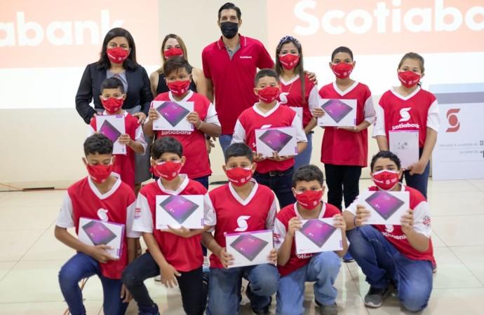 Scotiabank entrega USD$10 mil para proyecto tecnológico a escuela ganadora del Campeonato Virtual Sub-12