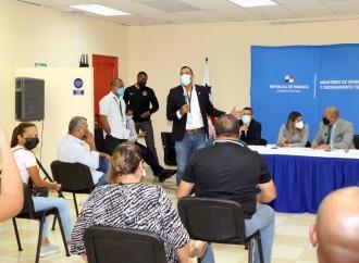 Miviot, propietarios y moradores de Pueblo Nuevo alcanzan acuerdos