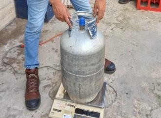 Acodeco verificó contenido neto del gas de 25 libras en todo el país