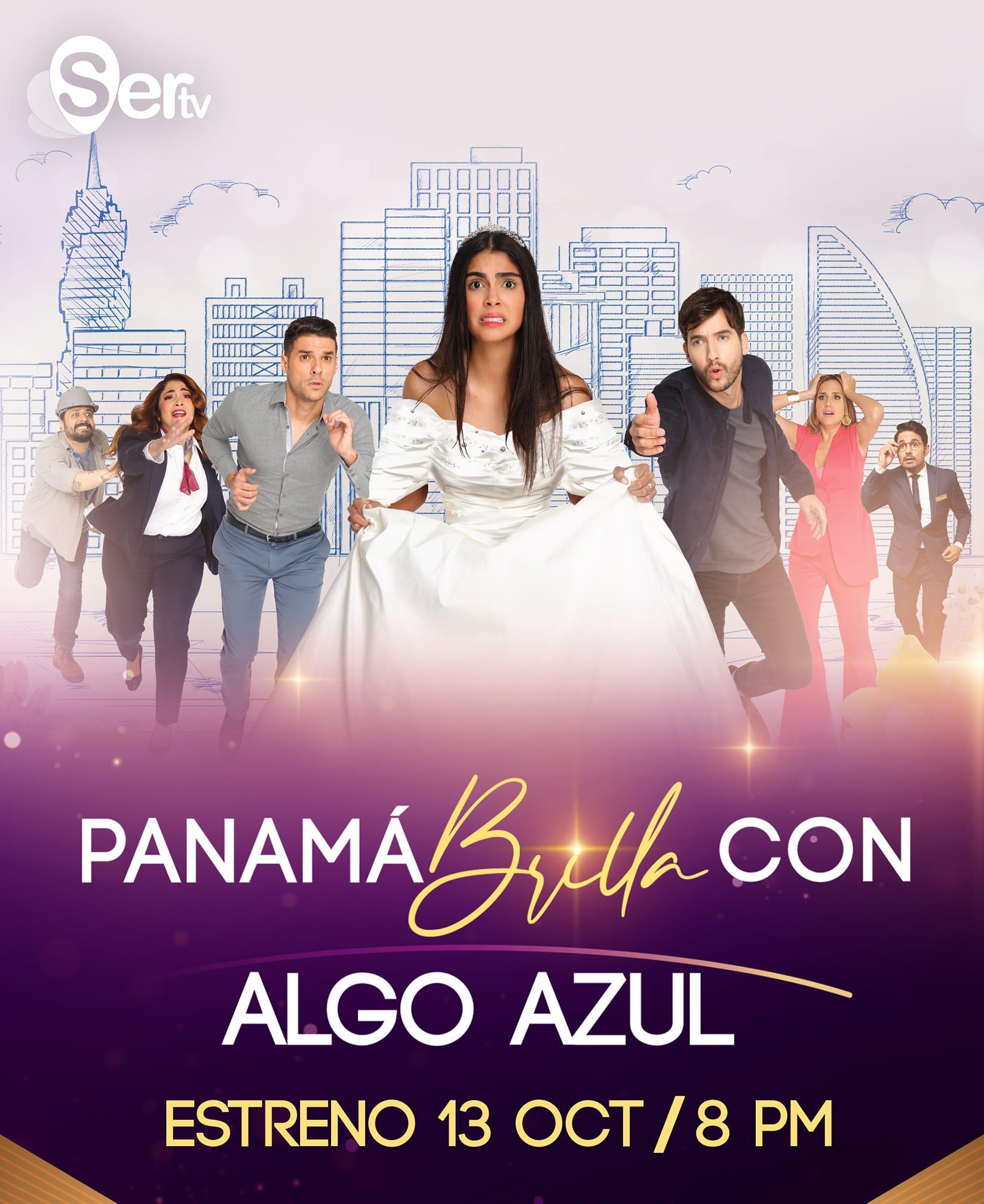 PANAMA BRILLA CON ALGO AZUL