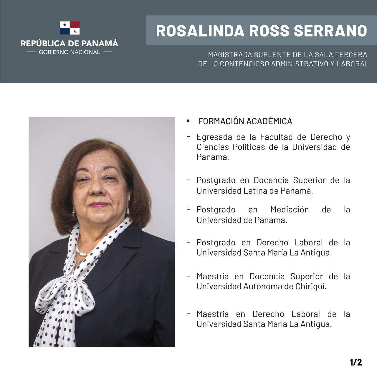 Rosalinda Ross Serrano CV