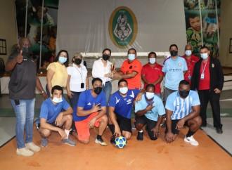 Colaboradores del IPHE participan de cuadrangular de fútbol