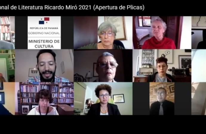 Talentosas escritoras se alzaron con tres de las categorías del Premio Concurso Nacional de Literatura Ricardo Miró 2021