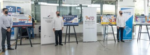 Tarjeta del metro en homenaje al Bicentenario