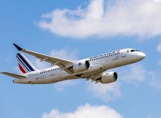 Air France presenta su primer Airbus A220-300