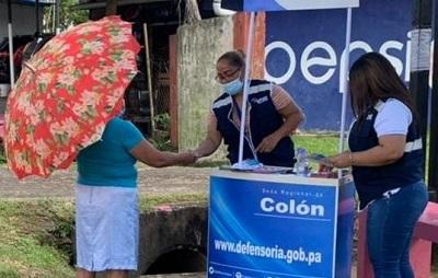 Promocionan los Derechos Humanos en 4 Altos de Colón