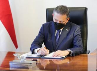 Presidente Cortizo Cohen sanciona seis leyes